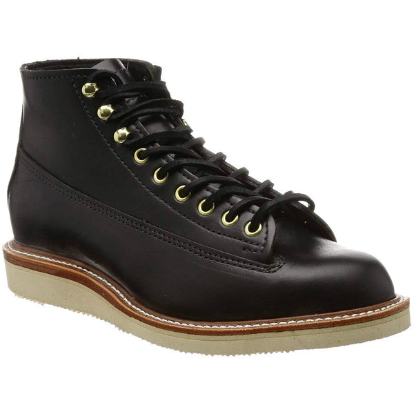 Chippewa 1958 5'' Original Lace to Toe Leather Mens Boots#color_black