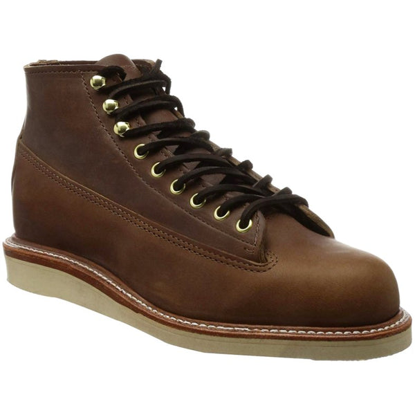 Chippewa 1958 5'' Original Lace to Toe Leather Mens Boots#color_maple leaf