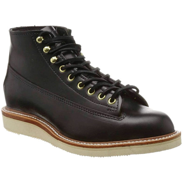 Chippewa 1958 5'' Original Lace to Toe Wide Leather Mens Boots#color_black