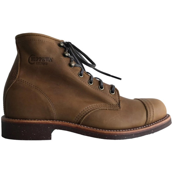 Chippewa 6'' Tan Renegade Homestead Leather Mens Boots#color_tan