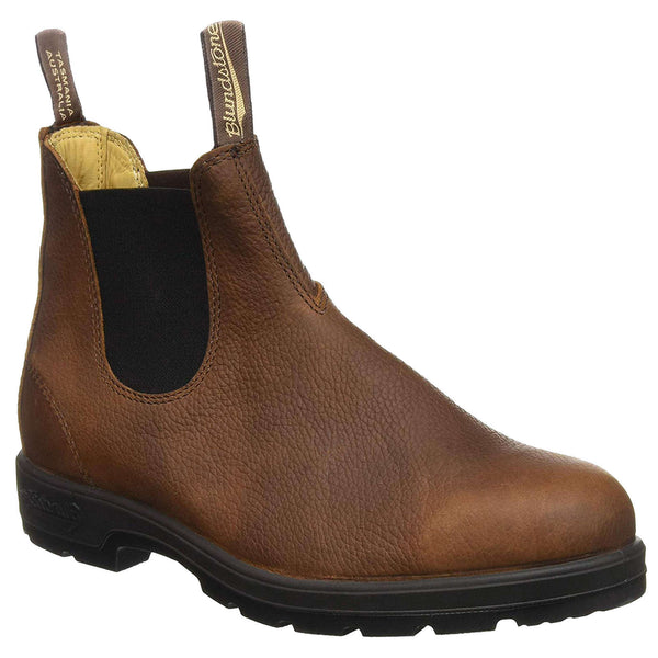 Blundstone 1445 Leather Unisex Boots#color_brown pebble