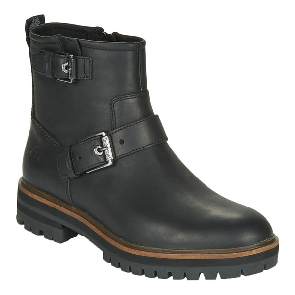 Timberland London Square Biker Leather Womens Boots#color_black