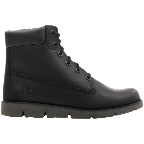 Timberland Radford 6'' Side Zip Leather Youth Boots#color_black
