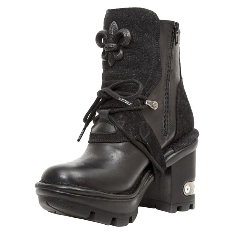 New Rock Neotrail M-NEOTYRE65-S1 Leather Womens Boots