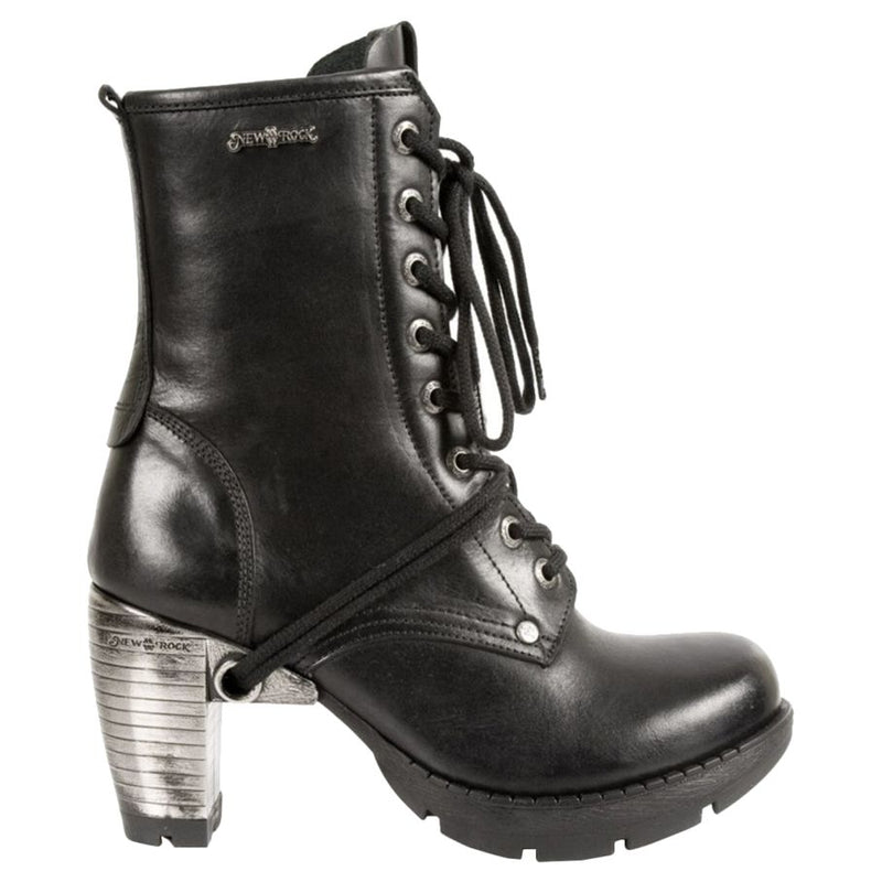 New Rock Trail M-TR001-S1 Leather Womens Boots