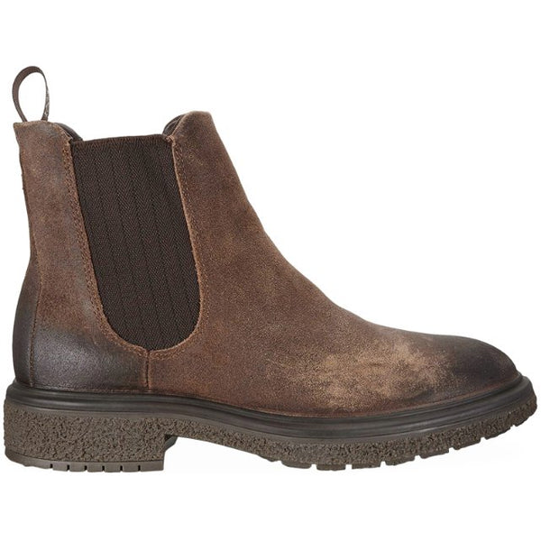 Ecco Crepetray Hybrid M 200944 Suede Mens Boots#color_choco brown