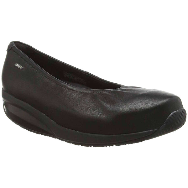 Mbt Harper Leather Womens Shoes#color_black