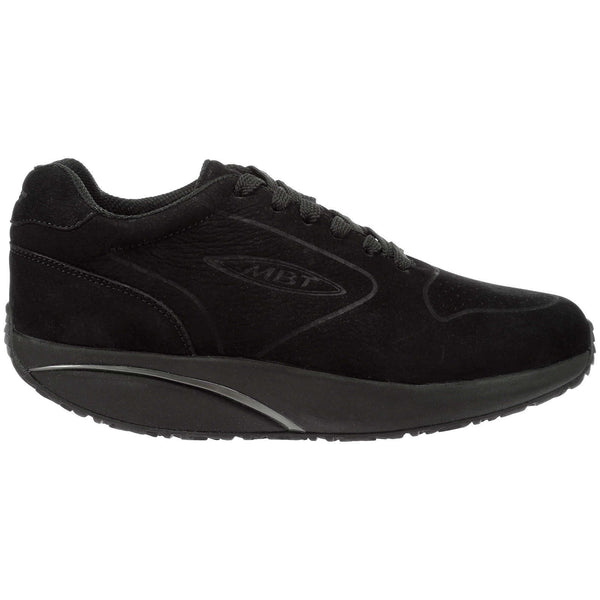 Mbt MBT-1997 Nubuck Womens Trainers#color_black
