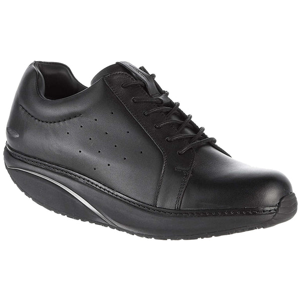 Mbt Nafasi 2 Leather Mens Trainers#color_black