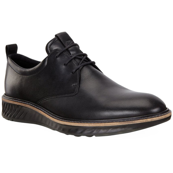Ecco ST 1 Hybrid 836404 Leather Mens Shoes#color_black