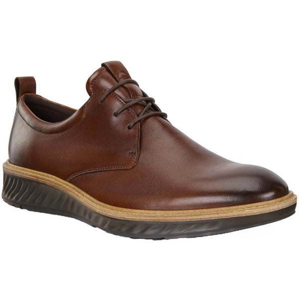 Ecco ST 1 Hybrid 836404 Leather Mens Shoes#color_cognac