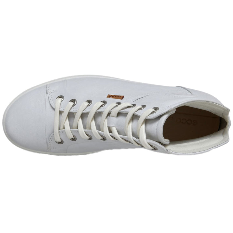 Ecco Soft 7 430023 Leather Womens Trainers