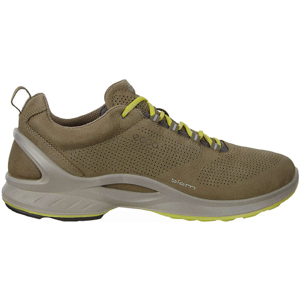 Ecco Biom Fjuel 837534 Leather Mens Trainers#color_tarmac