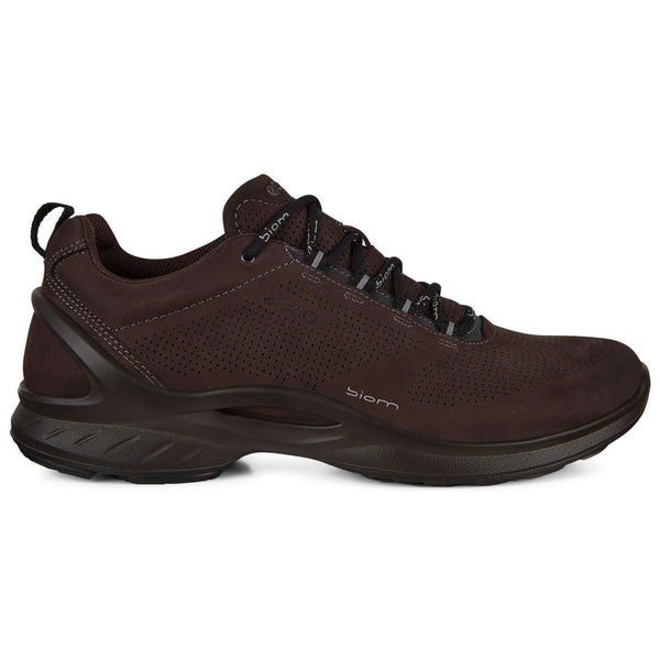 Ecco Biom Fjuel 837534 Leather Mens Trainers#color_mocha