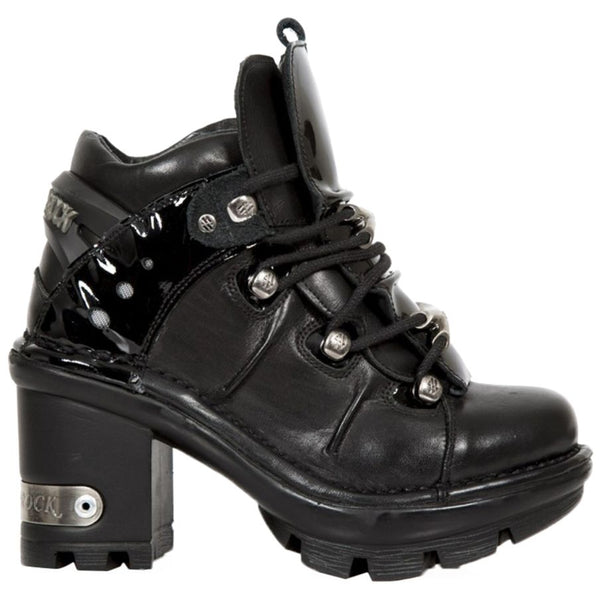 New Rock Neotyre Leather Womens Boots#color_black