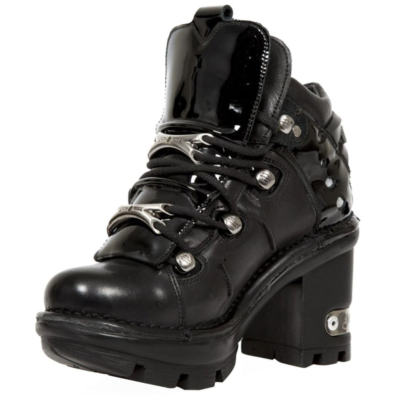 New Rock Neotyre Leather Womens Boots