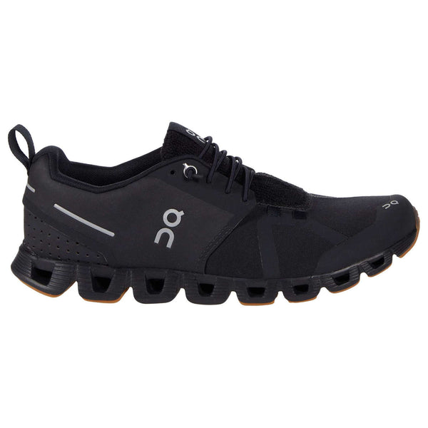 On Running Cloud Terry Textile Synthetic Mens Trainers#color_black