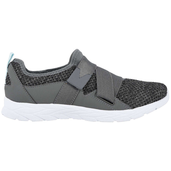Vionic Brisk Aimmy Textile Synthetic Womens Trainers#color_charcoal