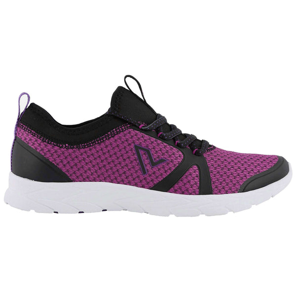 Vionic Brisk Alma Textile Synthetic Womens Trainers#color_black pink