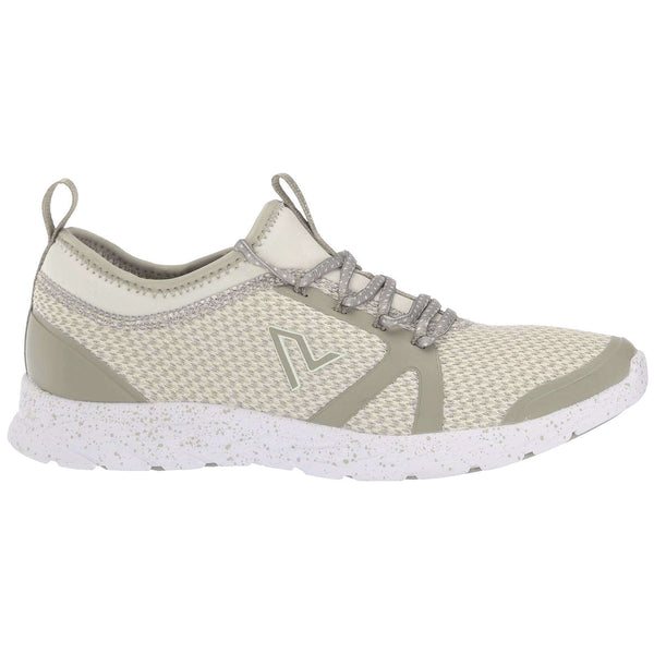 Vionic Brisk Alma Textile Synthetic Womens Trainers#color_aluminium
