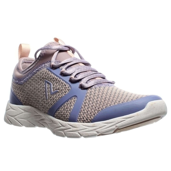Vionic Brisk Alma Textile Synthetic Womens Trainers#color_purple multi