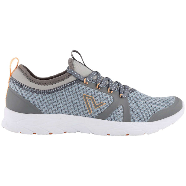 Vionic Brisk Alma Textile Synthetic Womens Trainers#color_grey blue