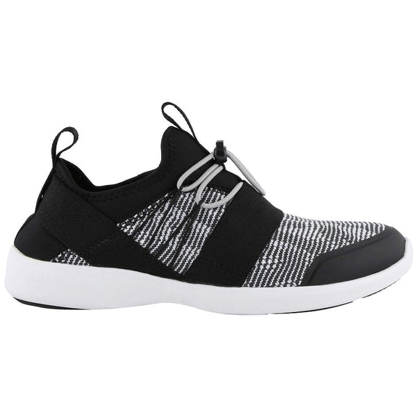 Vionic Sky Alaina Textile Synthetic Womens Trainers#color_black white