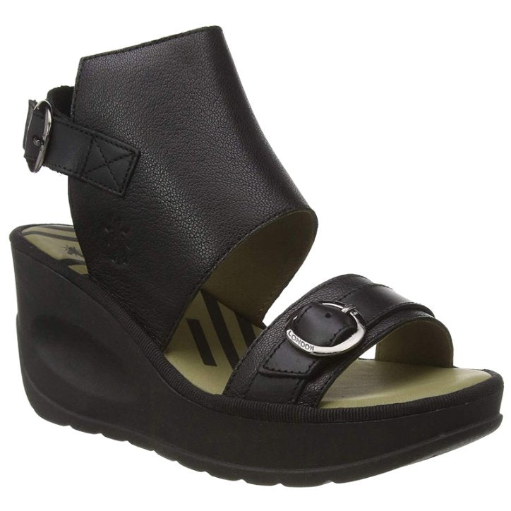 Fly London JENO104FLY Mousse Leather Womens Sandals