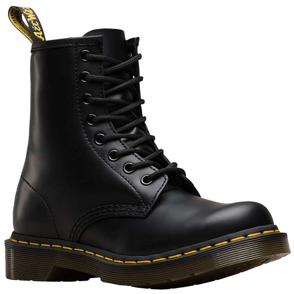 Dr. Martens 1460 W Smooth Leather Womens Boots#color_black