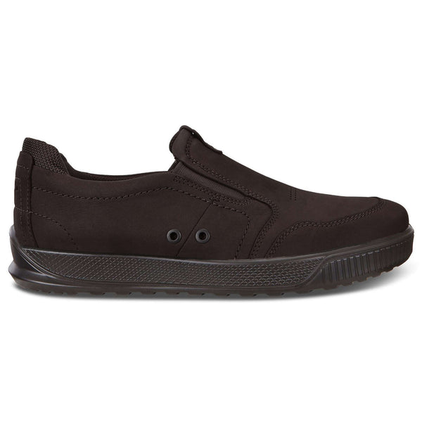 Ecco Byway 501554 Leather Mens Trainers#color_mocha