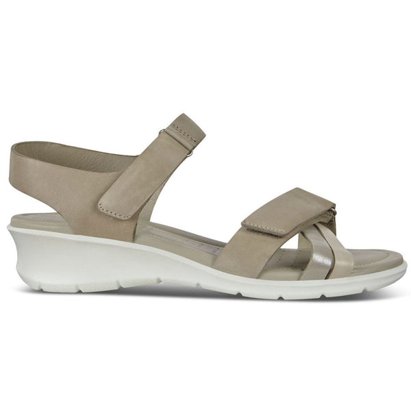 Ecco Felicia 216633 Leather Womens Sandals#color_grey rose moon rock