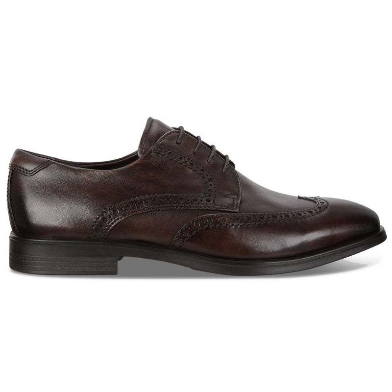 Ecco Melbourne 621664 Leather Mens Shoes