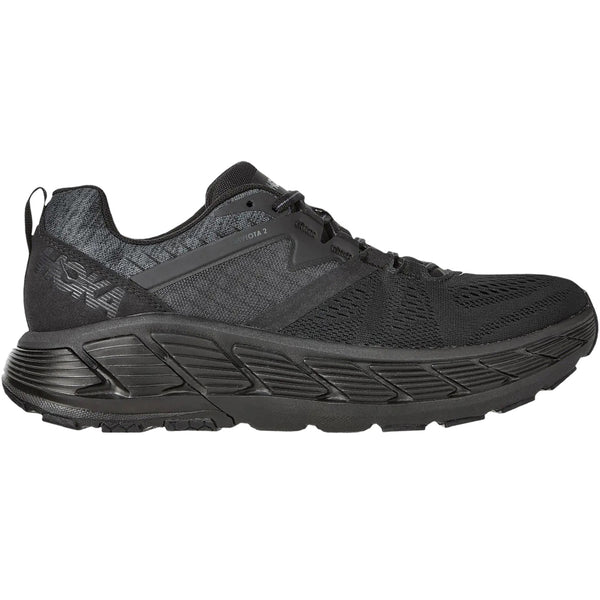 Hoka One One Gaviota 2 Textile Synthetic Mens Trainers#color_black dark shadow