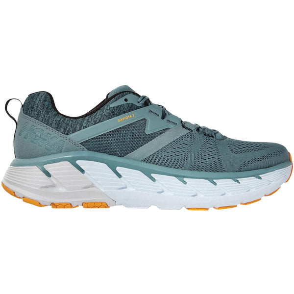Hoka One One Gaviota 2 Textile Synthetic Mens Trainers#color_lead anthracite