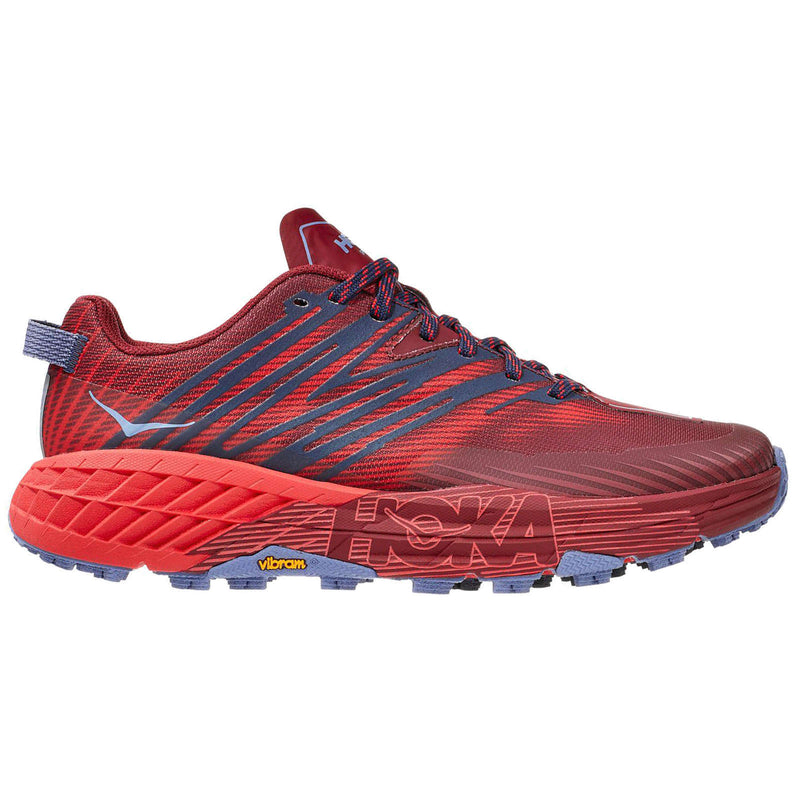 Hoka One One Speedgoat 4 Textile Synthetic Womens Trainers