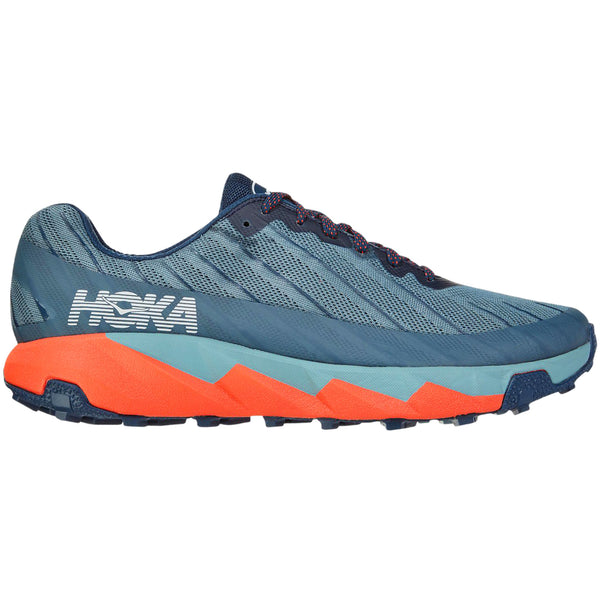 Hoka One One Torrent Textile Synthetic Mens Trainers#color_moonlit ocean lead