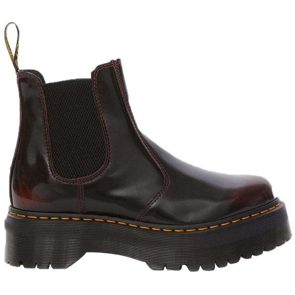 Dr.Martens 2976 Quad Arcadia Leather Unisex Boots#color_cherry red