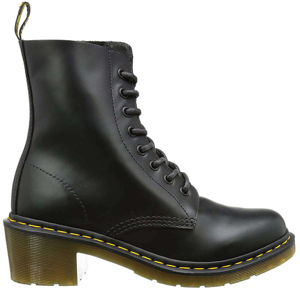 Dr.Martens Clemency Smooth Leather Womens Boots#color_black