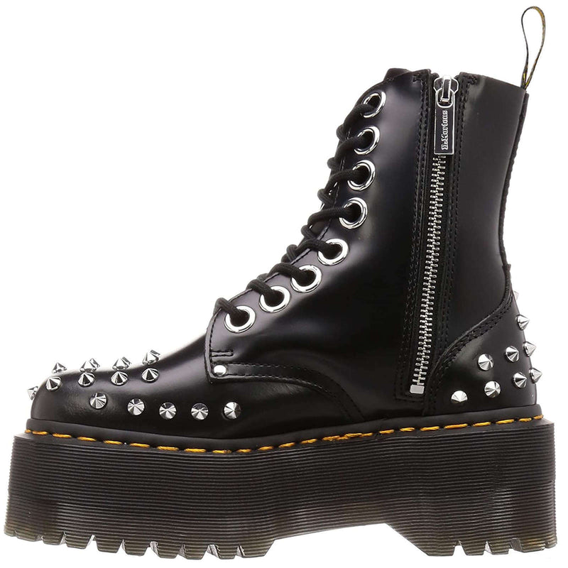 Dr.Martens Jadon Max Stud Buttero Leather Womens Boots