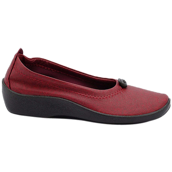 Arcopedico L1 Synthetic Womens Shoes#color_cherry