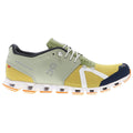 On Running Cloud 70/30 Textile Synthetic Mens Trainers#color_leaf mustard