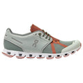 On Running Cloud 70/30 Textile Synthetic Mens Trainers#color_moss hazel