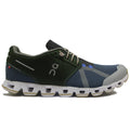 On Running Cloud 70/30 Textile Synthetic Mens Trainers#color_cactus storm
