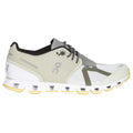 On Running Cloud 70/30 Textile Synthetic Womens Trainers#color_hay white