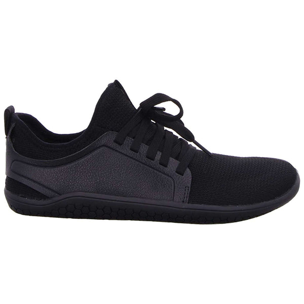 Vivobarefoot Kasana Textile Synthetic Womens Trainers#color_obsidian