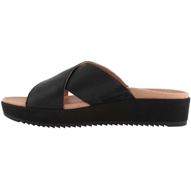 Vionic Hayden Leather Womens Sandals