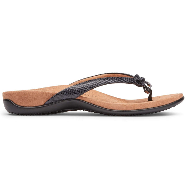 Vionic Rest Bella II WVN Synthetic Womens Sandals#color_black