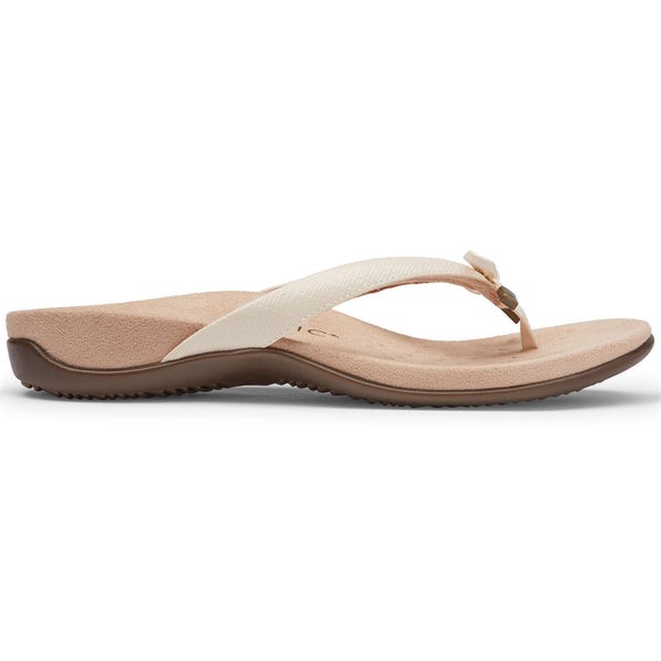 Vionic Rest Bella II WVN Synthetic Womens Sandals#color_cream