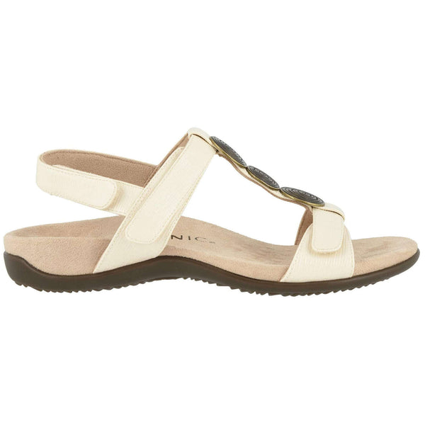 Vionic Rest Farra II WVN Synthetic Womens Sandals#color_cream