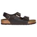 Birkenstock Milano BS Waxy Leather Unisex Sandals#color_habana